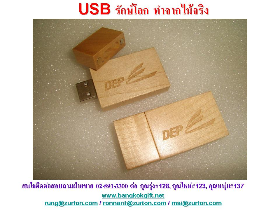 USB DEP Wood